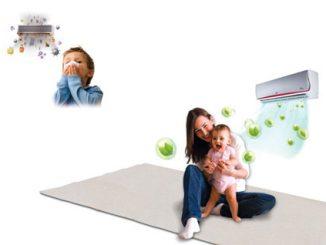 cách sử dụng điều hòa cho trẻ sơ sinh