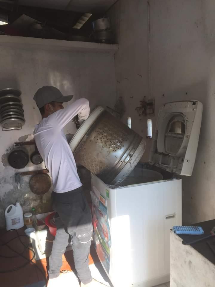 vệ sinh máy giặt tại đà nẵng