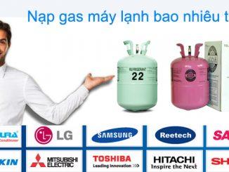 Nạp gas điều hòa bao nhiêu là đủ