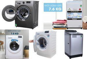 một số máy giặt thông dụng