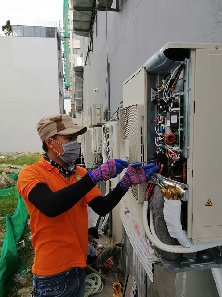 thợ sửa máy lạnh tại quận liên chiểu