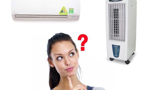 quạt hơi nước hay máy lạnh tốt hơn