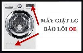 Sửa lỗi OE máy giặt LG